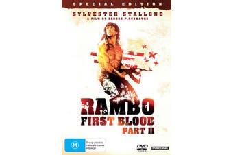 Rambo First Blood Part II DVD Region 4