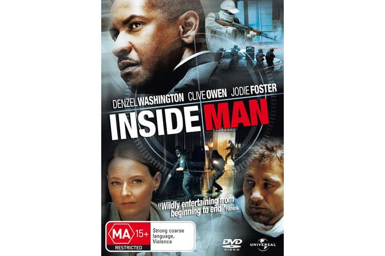 Inside Man DVD Region 4