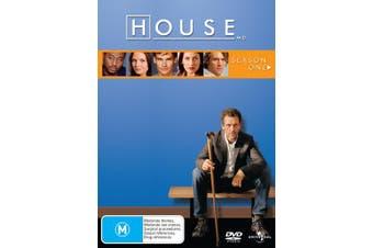 House Season 1 DVD Region 4