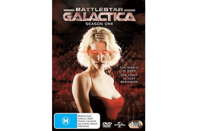 Battlestar Galactica Season 1 DVD Region 4