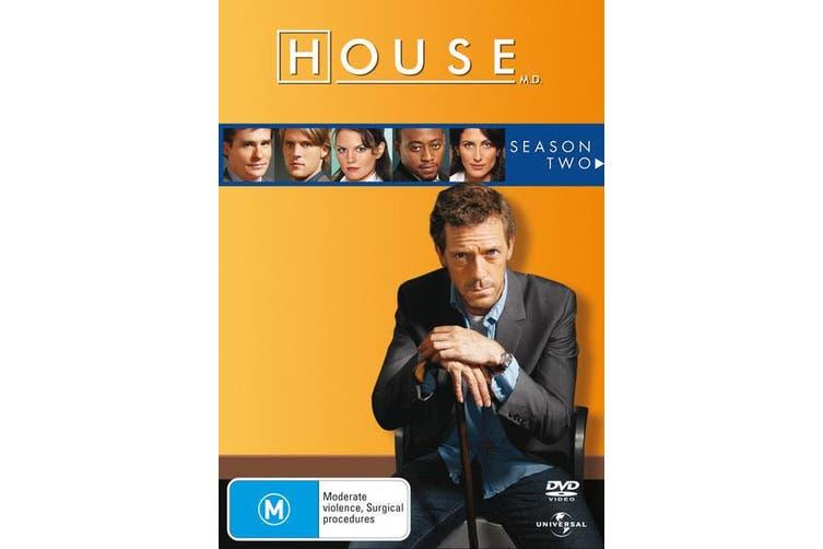 House Season 2 DVD Region 4