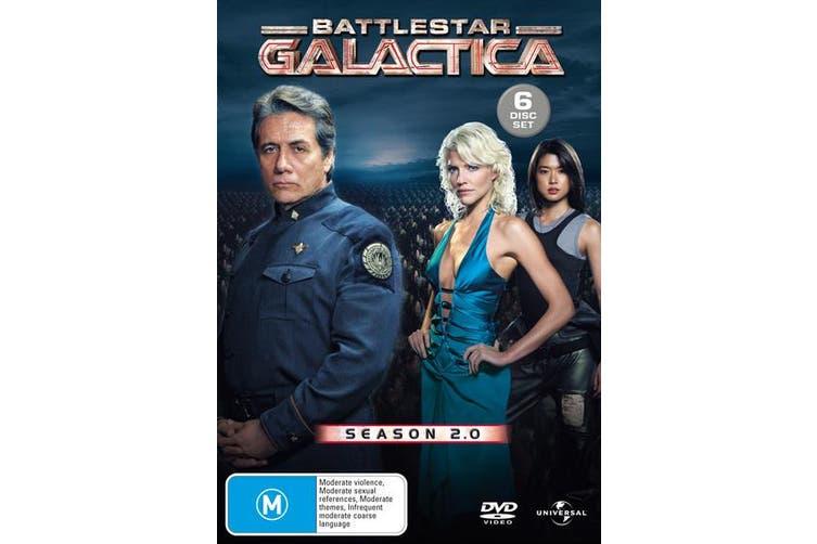 Battlestar Galactica Season 2 DVD Region 4