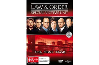 Law and Order Special Victims Unit Season 1 DVD Region 4