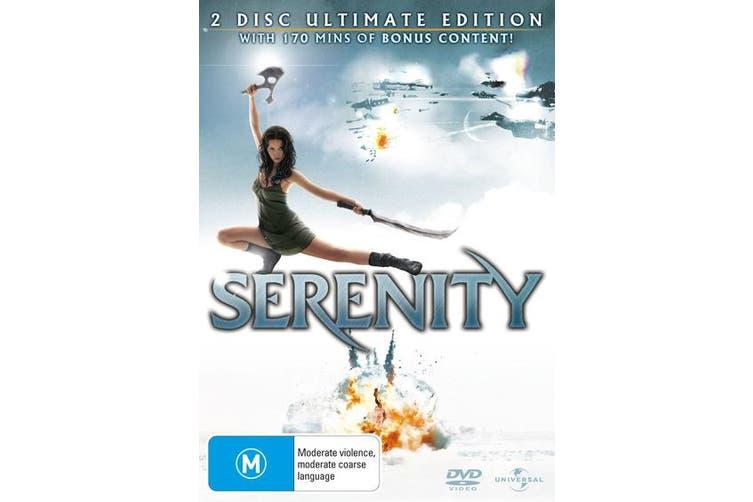 Serenity DVD Region 4