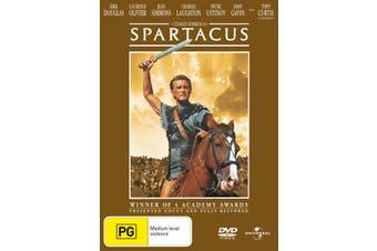 Spartacus DVD Region 4