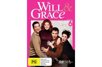 Will and Grace The Complete Series 6 DVD Region 4