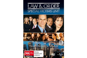 Law and Order Special Victims Unit Season 3 DVD Region 4