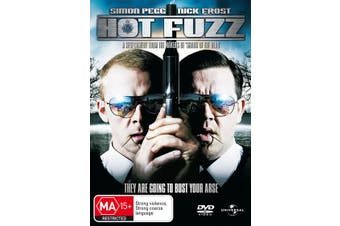 Hot Fuzz DVD Region 4