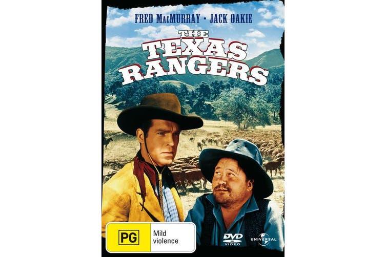 The Texas Rangers DVD Region 4