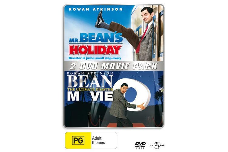 Dick Smith Mr Beans Holiday Bean The Ultimate Disaster Movie Dvd Region 4 Comedy