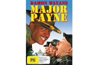 Major Payne DVD Region 4