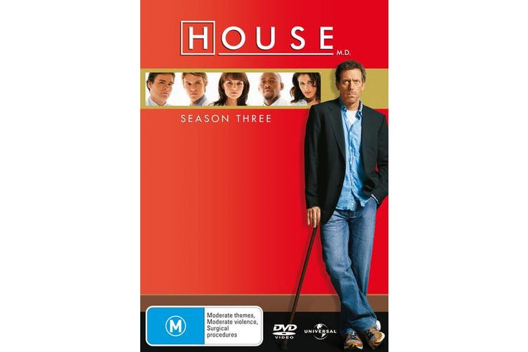 House Season 3 DVD Region 4