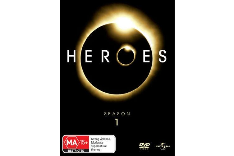 Heroes Season 1 DVD Region 4
