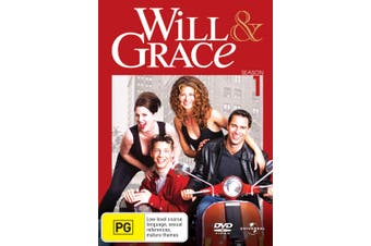 Will and Grace The Complete Series 1 DVD Region 4