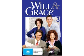 Will and Grace The Complete Series 3 DVD Region 4