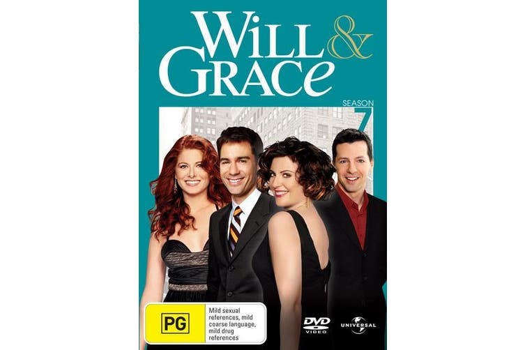 Will and Grace The Complete Series 7 DVD Region 4