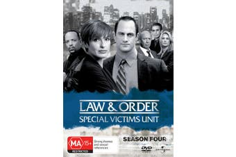 Law and Order Special Victims Unit Season 4 DVD Region 4