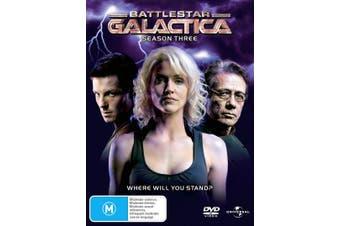 Battlestar Galactica Season 3 DVD Region 4