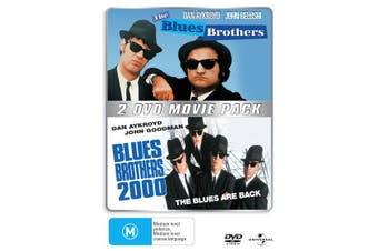 The Blues Brothers / Blues Brothers 2000 DVD Region 4