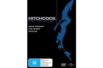 Hitchcock Icon Collection DVD Region 4