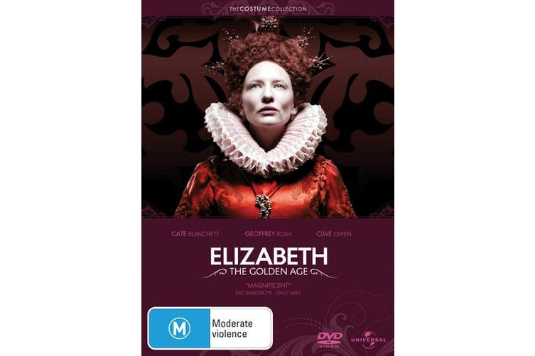 Elizabeth The Golden Age DVD Region 4