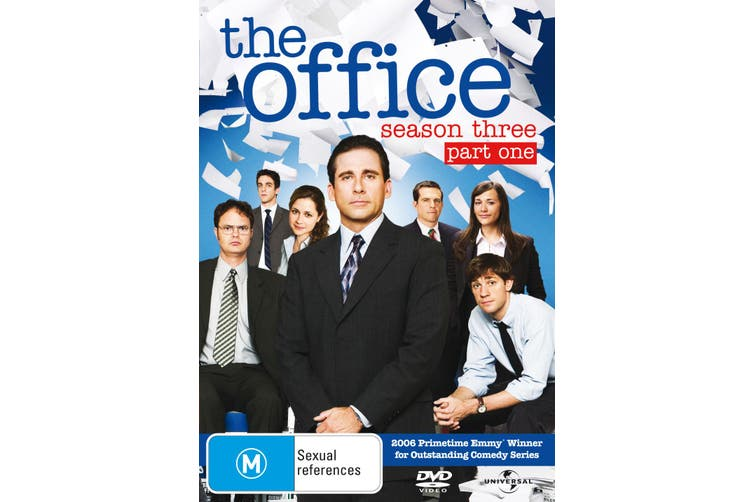 The Office An American Workplace Season 3 Part One DVD Region 4