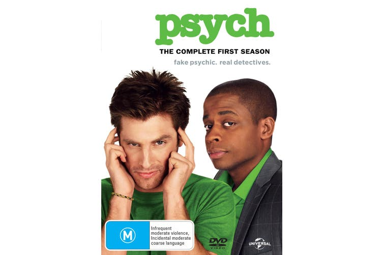 Psych The Complete First Season 1 DVD Region 4