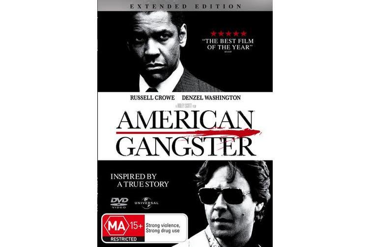American Gangster DVD Region 4