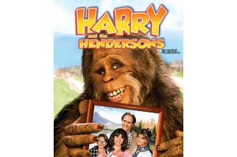 Harry and the Hendersons DVD Region 4