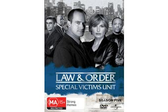Law and Order Special Victims Unit Season 5 DVD Region 4
