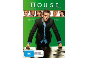 House Season 4 DVD Region 4