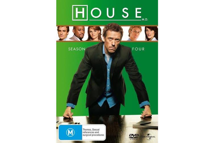 House Season 4 DVD Region 4