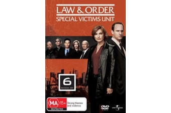 Law and Order Special Victims Unit Season 6 DVD Region 4