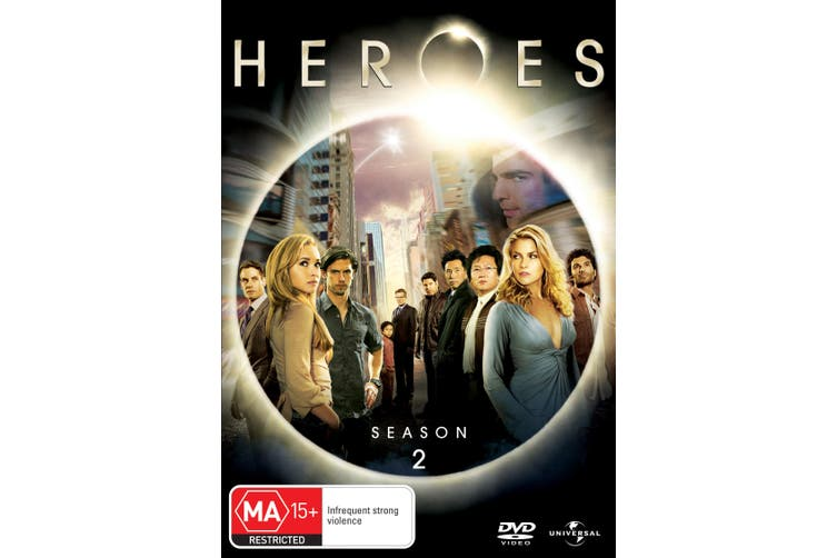Heroes Season 2 DVD Region 4