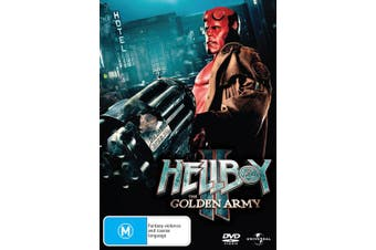 Hellboy 2 The Golden Army DVD Region 4