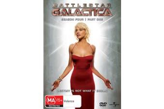 Battlestar Galactica Season 4 DVD Region 4