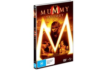 The Mummy / The Mummy Returns / The Mummy Tomb of the Dragon Emperor Box Set DVD
