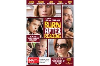 Burn After Reading DVD Region 4