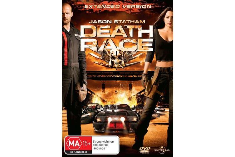 Death Race DVD Region 4