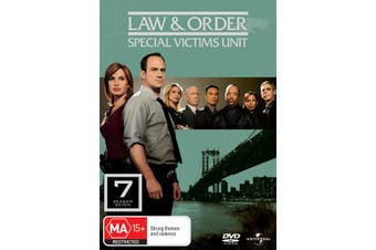 Law and Order Special Victims Unit Season 7 DVD Region 4