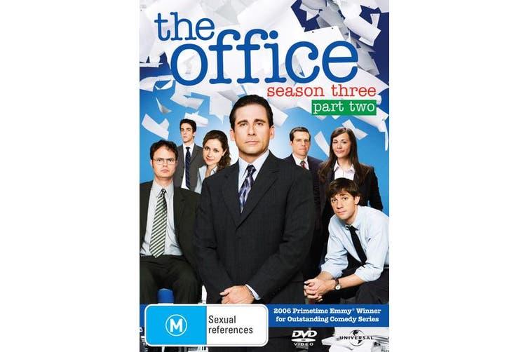 The Office An American Workplace Season 3 Part Two DVD Region 4