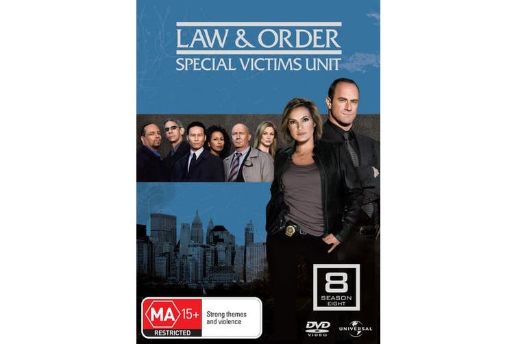 Law and Order Special Victims Unit Season 8 DVD Region 4