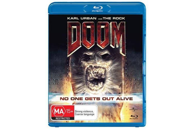 Doom Blu-ray Region B