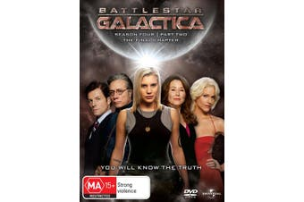 Battlestar Galactica The Final Season DVD Region 4