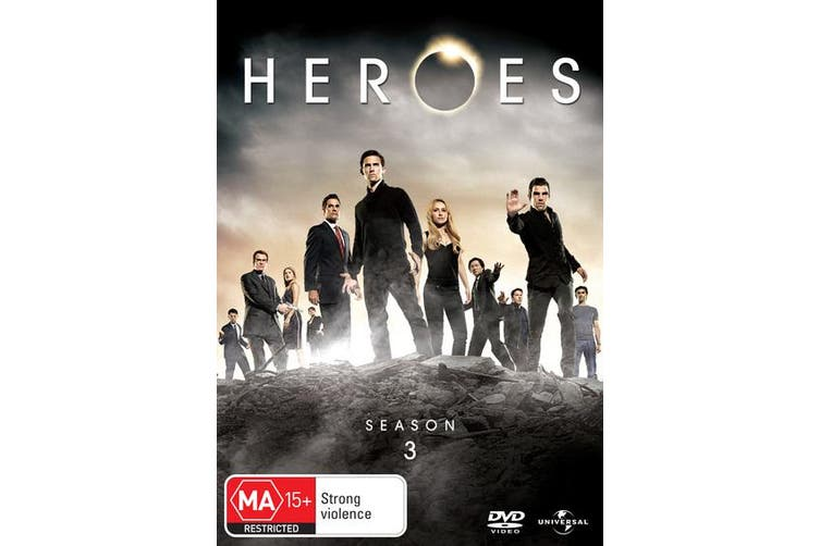 Heroes Season 3 DVD Region 4