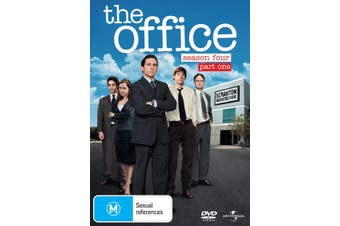 The Office An American Workplace Season 4 Part One DVD Region 4