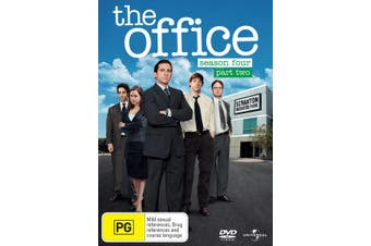 The Office An American Workplace Season 4 Part Two DVD Region 4