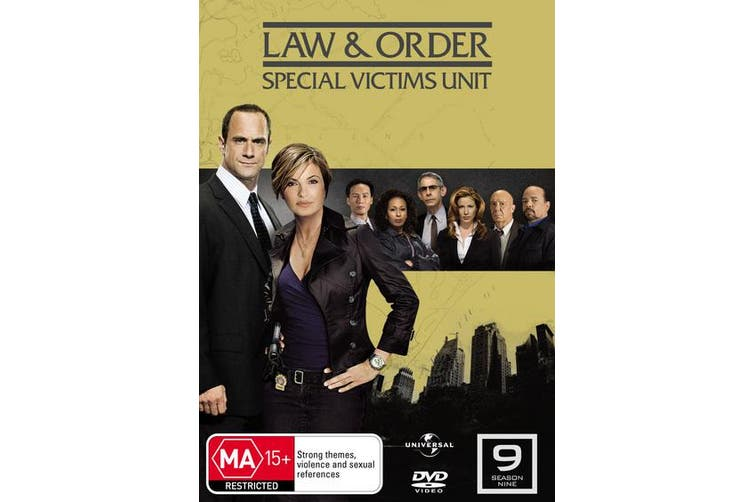 Law and Order Special Victims Unit Season 9 DVD Region 4
