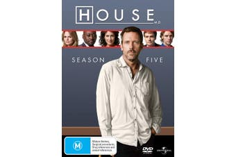House Season 5 DVD Region 4