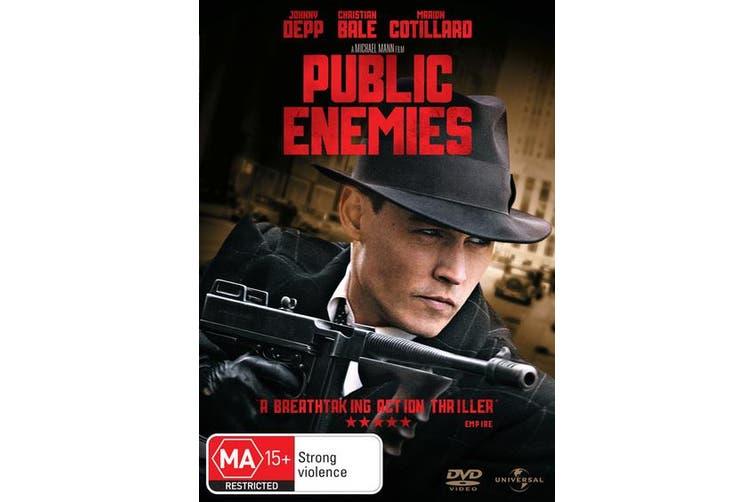 Public Enemies DVD Region 4